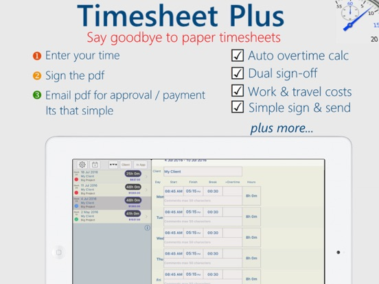 Timesheet Plus App Price Drops