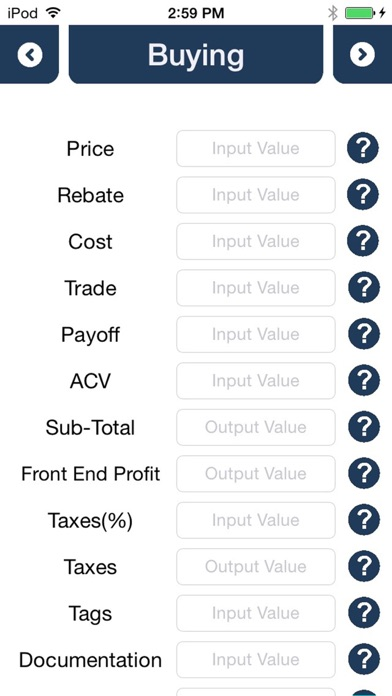Car Czar Pro Car Loan  Lease Calculator by Impossible Otter, LLC
