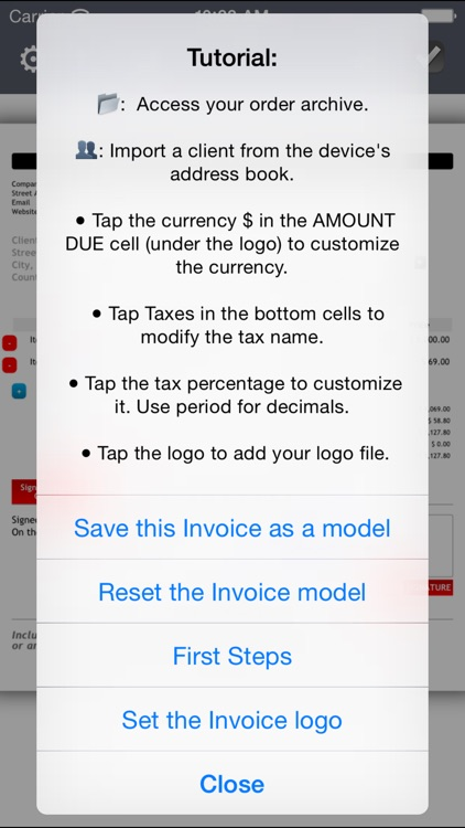 Invoice Maker Plus Create, Send, Print PDF files by Maxime Comtois