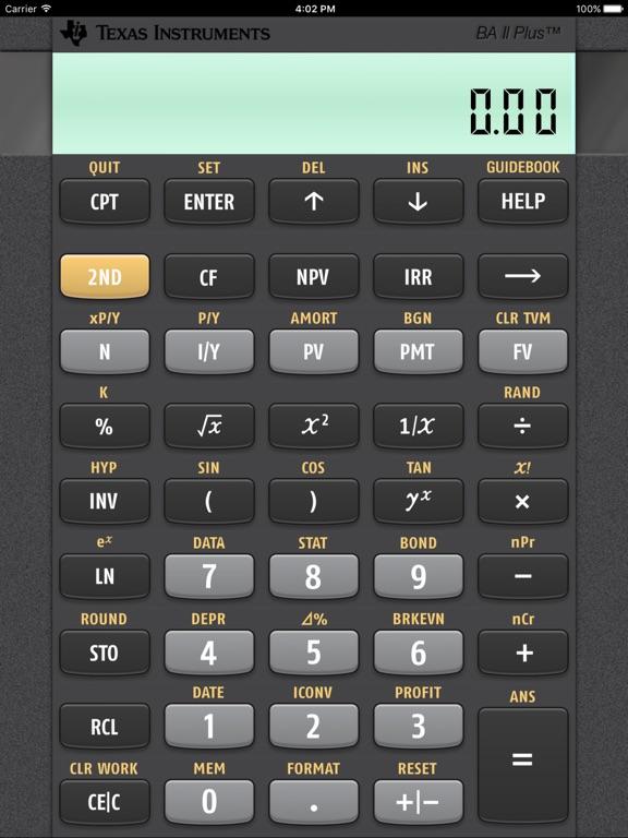 BA II Plus(tm) Financial Calculator App Price Drops