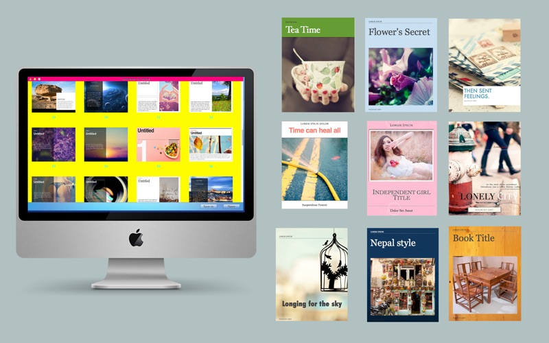Templates for iBooks Author - App - Mobile Apps