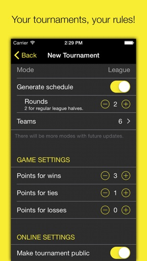 Champion \u2013 Tournament-Manager on the App Store - how to make a league schedule
