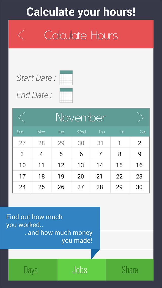 Shift Calendar - Work Schedule Manager  Job Tracker - by PicShift