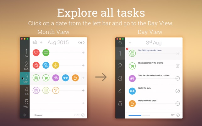 Daily Schedule on the Mac App Store