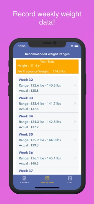Pregnancy BMI - Weight Tracker on the App Store