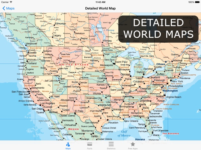 Atlas For Ipad Maps Facts On The App Store