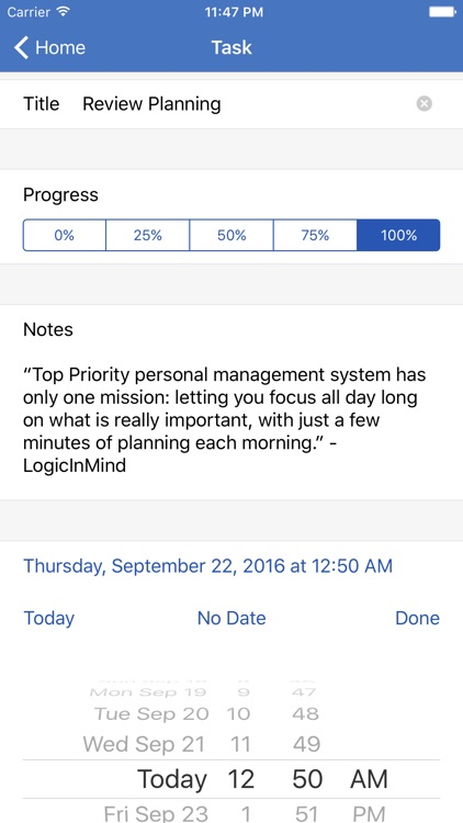Top Priority™ - #1 Daily Task Manager by LogicInMind