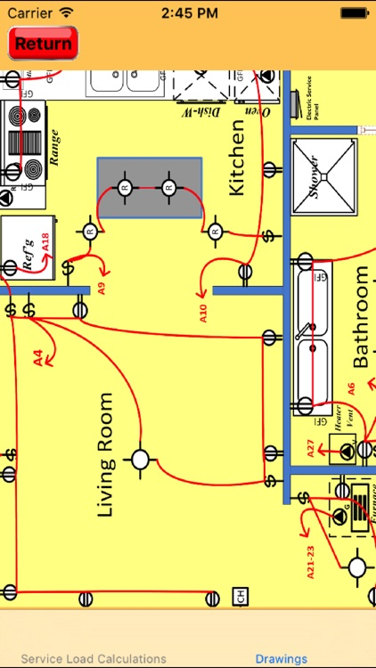 Electrical Load Calculator  Electrical Plan Example by Yuhsiu Lai