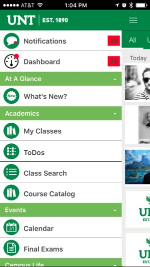 University of North Texas on the App Store - unt blackboard