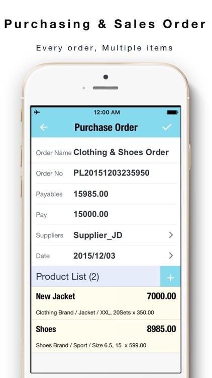 Daily Sales Tracker 2 -Items storage,Stock tracker by yongwen hu - sales tracker
