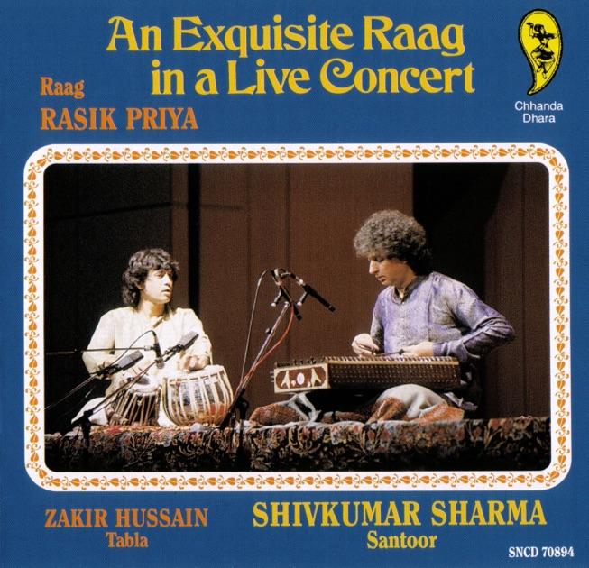 An Exquisite Raag In a Live Concert by Pandit Shivkumar Sharma & Zakir Hussain