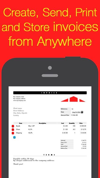 Invoice Maker Core \u2022 Mobile PDF invoicing by Maxime Comtois - pdf invoice maker