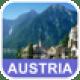 Osterreich Offline-Landkarte - PLACE STARS