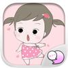 ChatStick Company Limited - จีจี้ ฟันแหลม สติกเกอร์ คีย์บอร์ด โดย ChatStick アートワーク