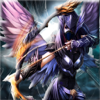 Yeisela Ordonez Vaquiro - Angry Angel Arrow Dragon - Warriors of Secret Universe Battle アートワーク