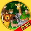 Tgame-girls - 小さな子供のためのジャングルの動物 - 無料ゲーム アートワーク