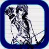 Yeisela Ordonez Vaquiro - Draw Arrow Sketch - Super Fun Archery Game アートワーク