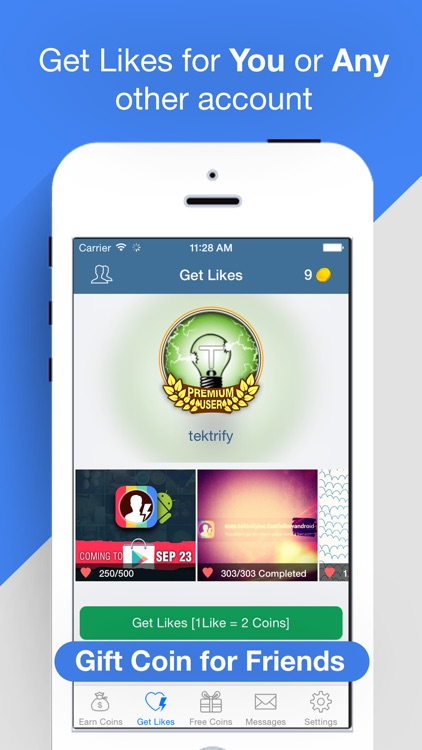Get Likes for Instagram with FastLike Pro - More Free Likes by