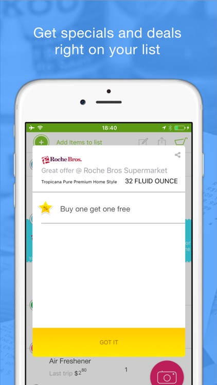 OurCart - Grocery Price Comparison Shopping List App Compare local