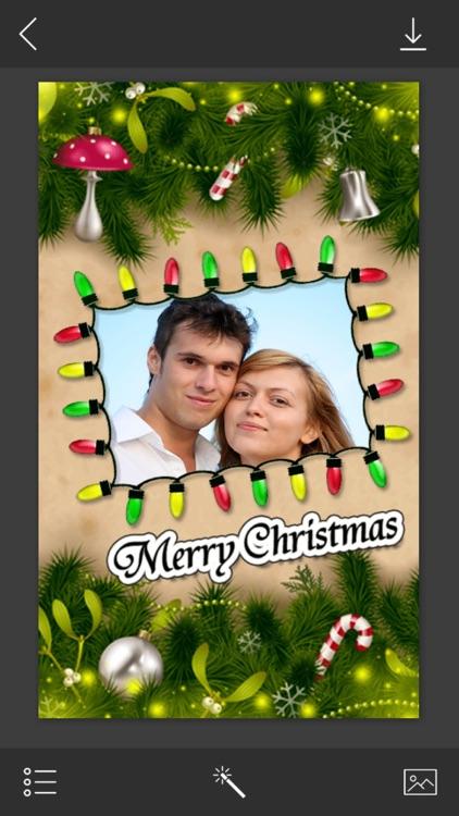 Christmas Photo Frame - Photo Frames for WhatsApp by Jivani Shraddhaben