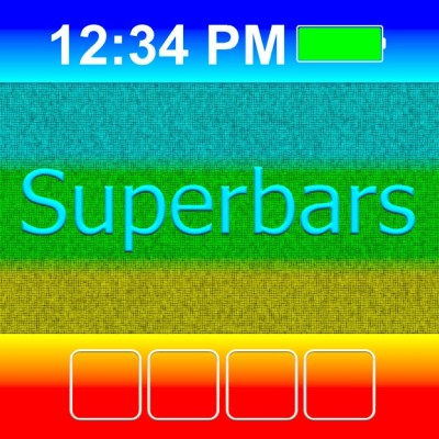 Superbars: create your own wallpapers on the App Store