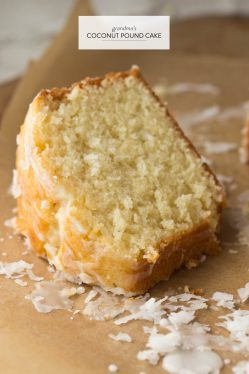 Dashing Coconut Pound Cake From A Choir Memberat Her New Orleans Church Many Years Has Made It Many Times Coconut Pound Cake My Mor Got This Recipe