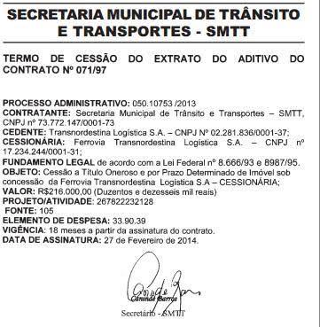 Mesmo fora dos trilhos, VLT continou 'sugando' verbas dos cofres públicos.