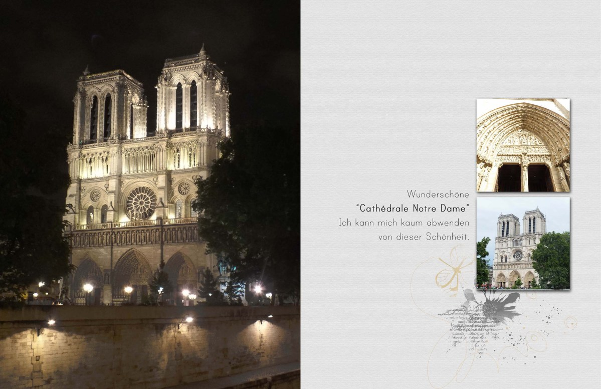 CITY TRIPS: Paris - Inspiration & Template Freebie