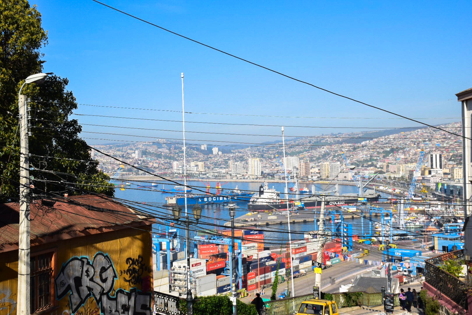 Arte Urbano Valparaiso Valparaíso The City Of Many Colors Isa Study Abroad Student Blog