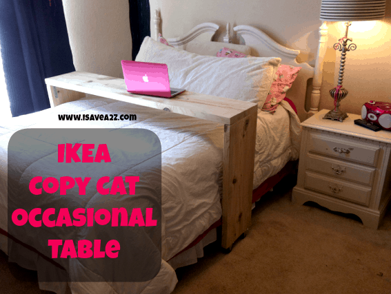 Overbed Table Ikea Ikea Copy Cat Homemade Occasional Table Tutorial