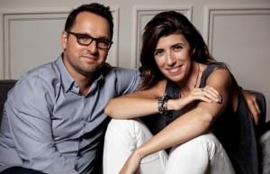 Sylvie Ganton and Christophe Cervazel