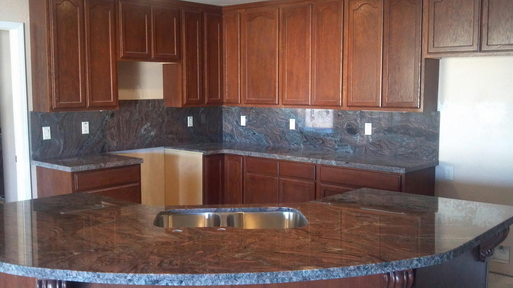 Maple Kitchen Cabinets With Marble Countertops Desert Stone Concepts Home Decorating Resources Home