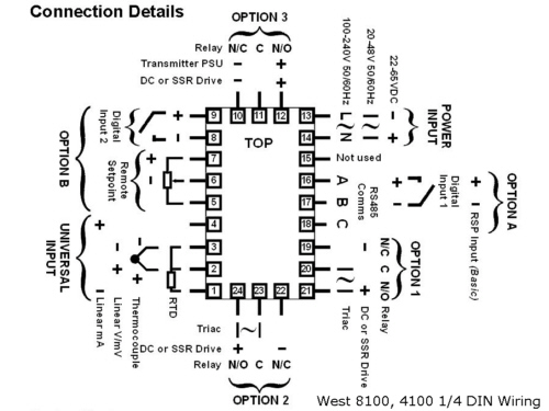 rtd wiring diagram temperature reading