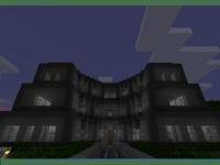 Minecraft Mansion Stone Hedges Glass Bridge Walkway 3 ...