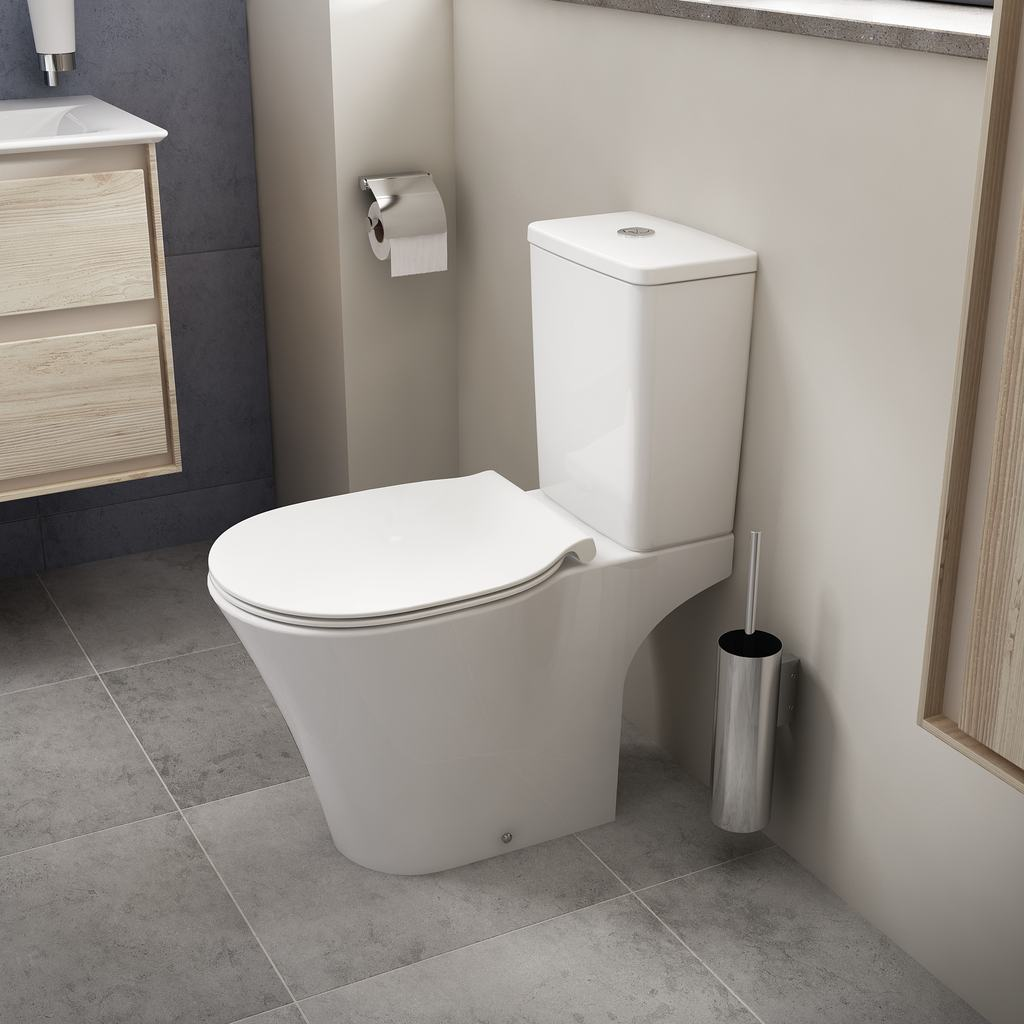 Connect Wc Ideal Standard E0097 Floor Standing Wc Bowl For Combination