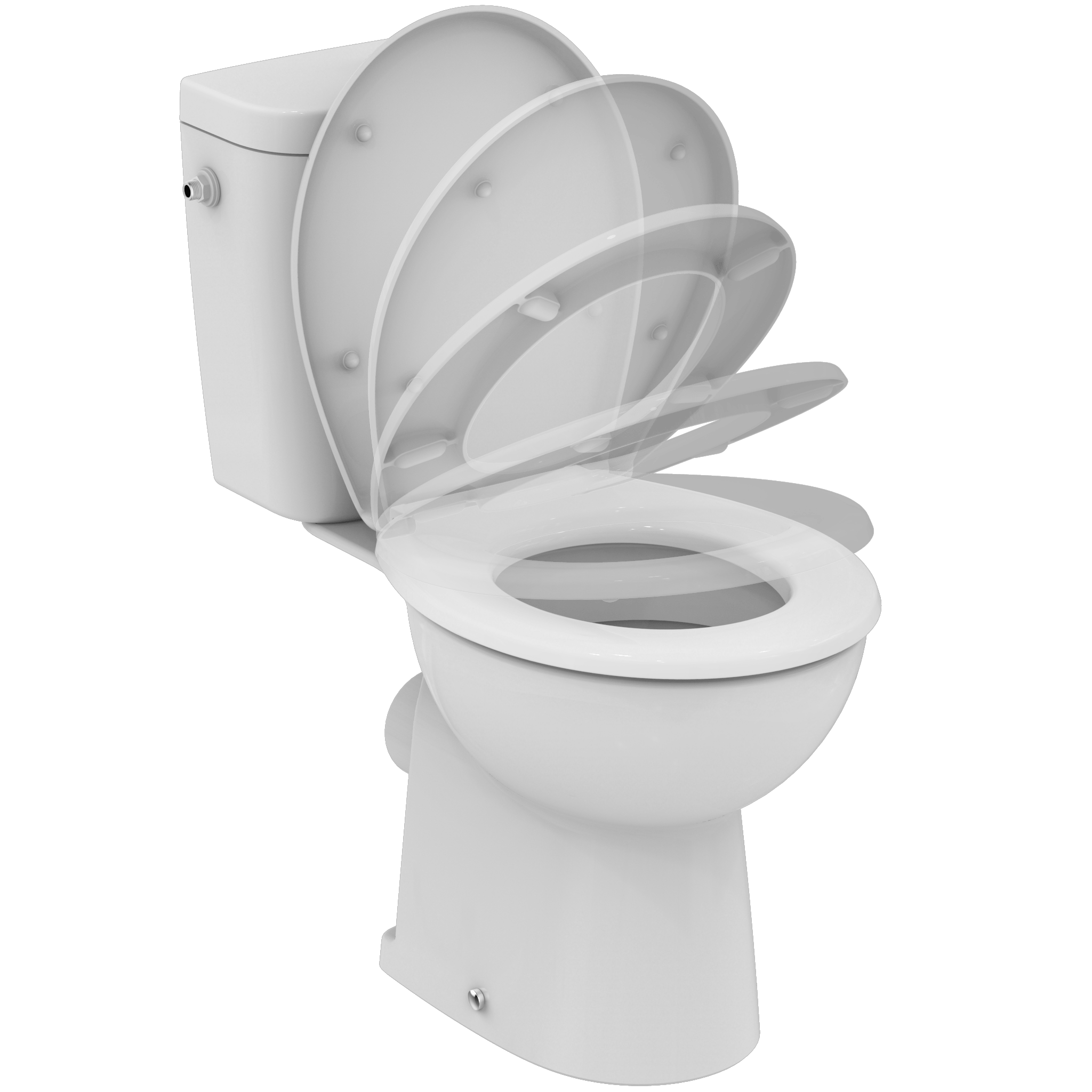 Wc Urinal Kombination Sevafresh 43 Floor Standing Close Coupled Wc Combination