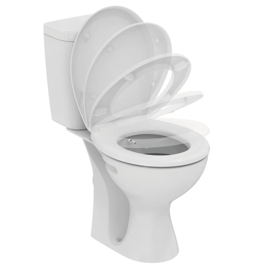 Wc Urinal Kombination Wc Combination 43 Bidet Function Vidima