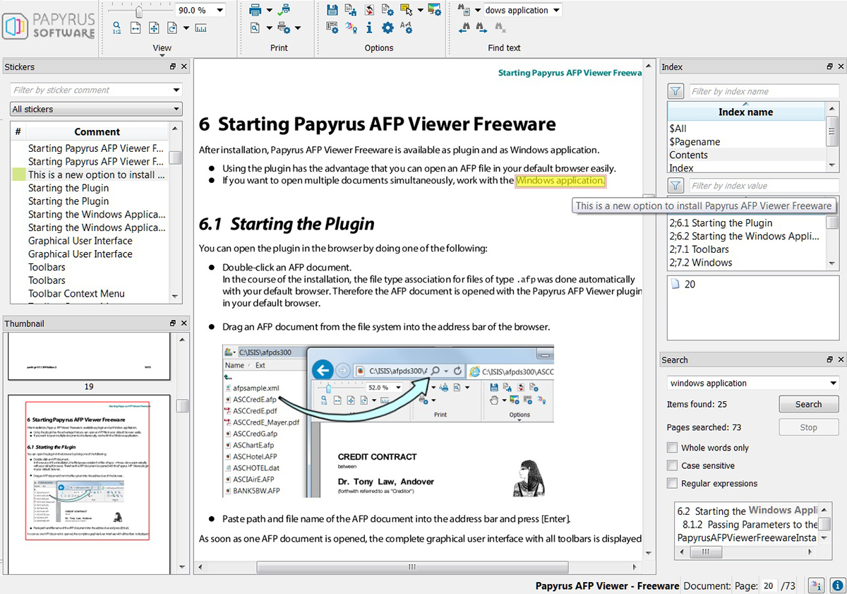 Freeware Banking Software Papyrus Afp Viewer Freeware