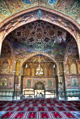 Interior of the Mosque.  Photo Courtesy: Jawad Zakariya