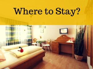 Where to stay in Islamabad