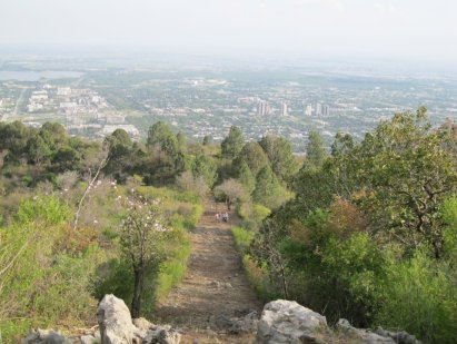 Margalla Hills national park in Islamabad