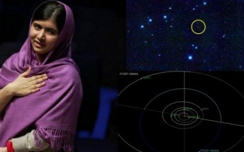 Asteroid named after Malala