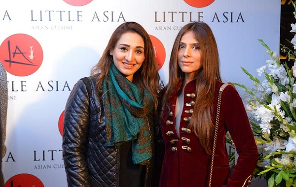Nosheen Sultan and Sadia Khawaja at the launch event.