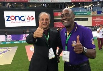 Sir Vivian Richards mentoring Quetta Gladiators in Pakistan Super League 2016