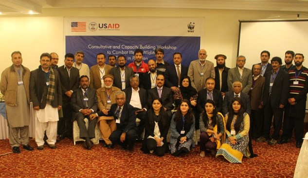 Particpants at WWF-Pakistan workshop in Islamabad to develop a strategy to combat illegal wildlife trade in Pakistan