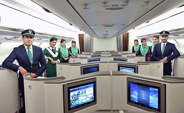 PIA Premier aircraft is equipped with LCD screens and inflight entertainment with 250 channels on offer
