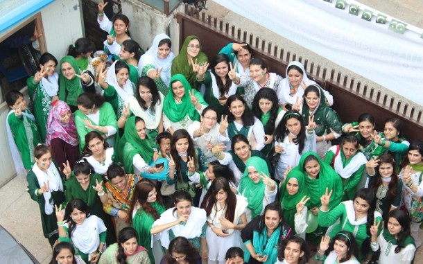 Celebration of Pakistan's Independence Day 2016 at Hashoo Foundation in Rawalpindi