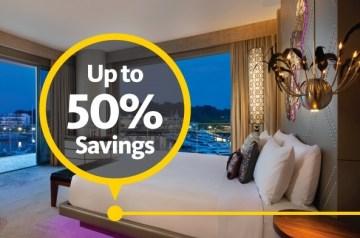 domestic hotel discount