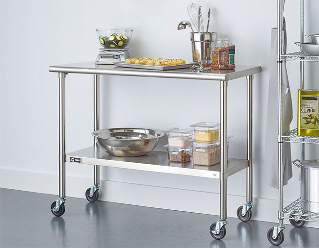 Kitchen Island Carts With Seating Stainless Steel Kitchen Island - The Pros & Cons