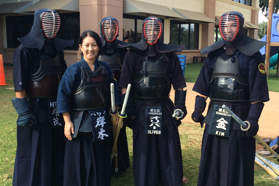 Stress Girl Wallpaper Japanese Martial Art Kendo At Ipa Island Pacific Academy